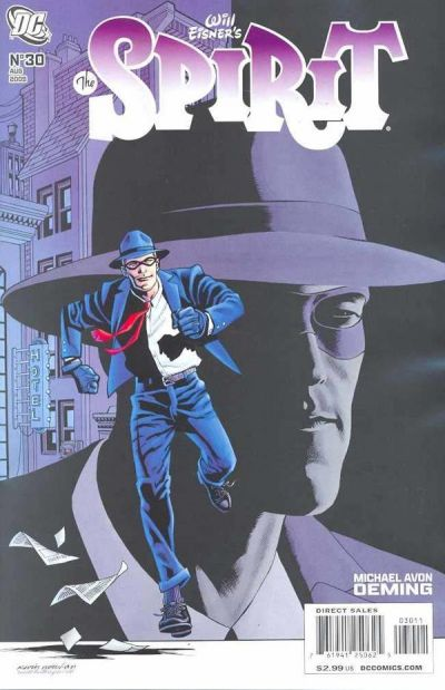 Cover for The Spirit (DC, 2007 series) #30