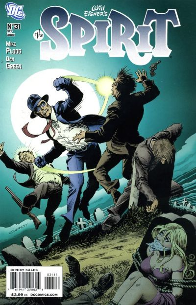 Cover for The Spirit (DC, 2007 series) #31