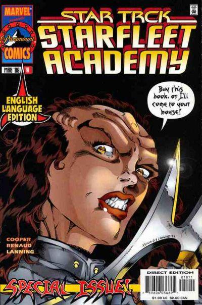 Cover for Star Trek: Starfleet Academy (Marvel, 1996 series) #18 [English]