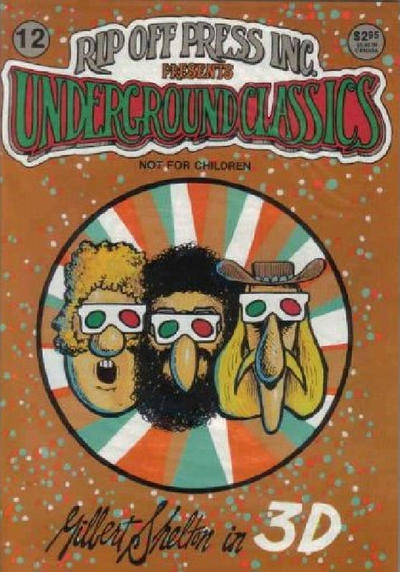 Cover for Underground Classics (Rip Off Press, 1985 series) #12