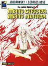 Cover for Pandora (NORMA Editorial, 1989 series) #40 - El lama blanco 5. Mano cerrada, mano abierta