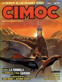 Cover Thumbnail for Cimoc (NORMA Editorial, 1981 series) #18