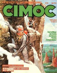 Cover Thumbnail for Cimoc (NORMA Editorial, 1981 series) #20
