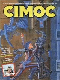 Cover Thumbnail for Cimoc (NORMA Editorial, 1981 series) #61