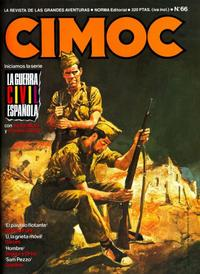 Cover Thumbnail for Cimoc (NORMA Editorial, 1981 series) #66