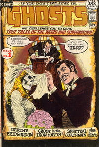 Cover Thumbnail for Ghosts (DC, 1971 series) #1