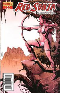 Cover for Red Sonja (Dynamite Entertainment, 2005 series) #44 [Cover A]