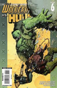 Cover for Ultimate Wolverine vs. Hulk (Marvel, 2006 series) #6