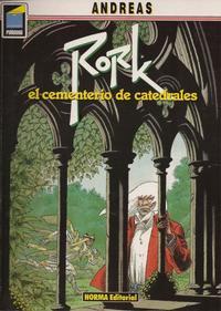 Cover Thumbnail for Pandora (NORMA Editorial, 1989 series) #14 - Rork. El cementerio de catedrales