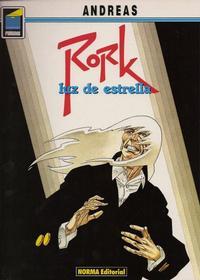 Cover Thumbnail for Pandora (NORMA Editorial, 1989 series) #22 - Rork. Luz de estrella