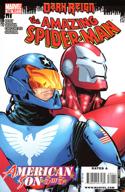 Cover for The Amazing Spider-Man (Marvel, 1999 series) #599