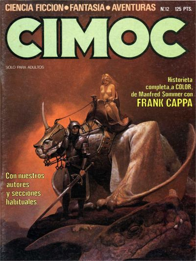 Cover for Cimoc (NORMA Editorial, 1981 series) #12