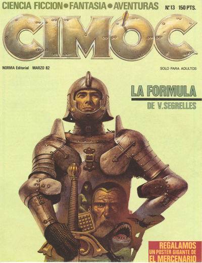 Cover for Cimoc (NORMA Editorial, 1981 series) #13
