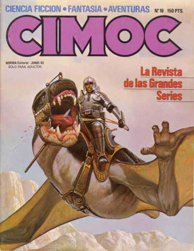 Cover for Cimoc (NORMA Editorial, 1981 series) #16