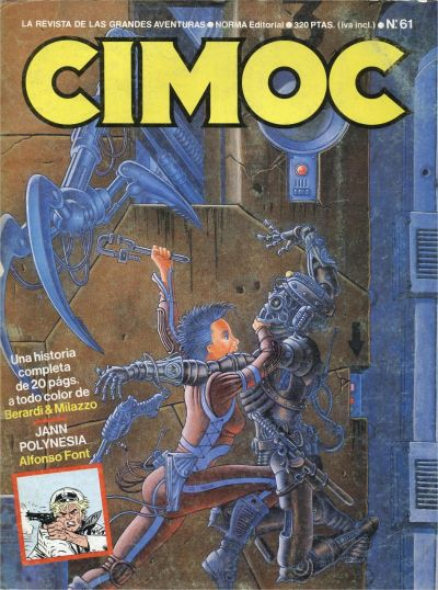 Cover for Cimoc (NORMA Editorial, 1981 series) #61
