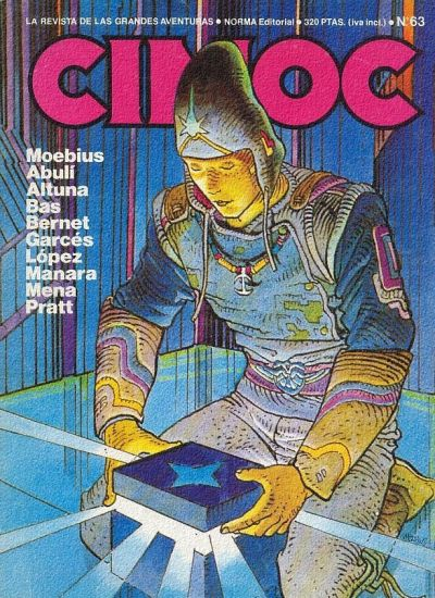 Cover for Cimoc (NORMA Editorial, 1981 series) #63