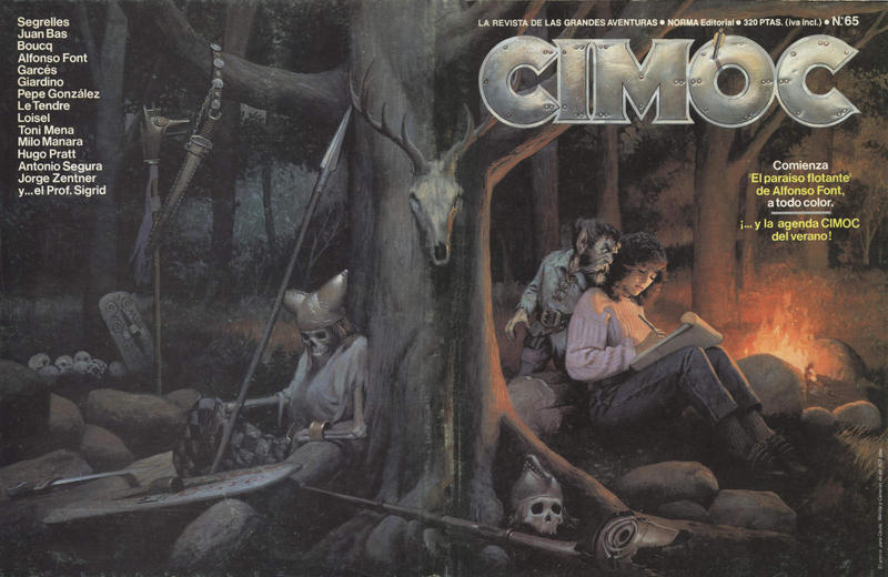 Cover for Cimoc (NORMA Editorial, 1981 series) #65