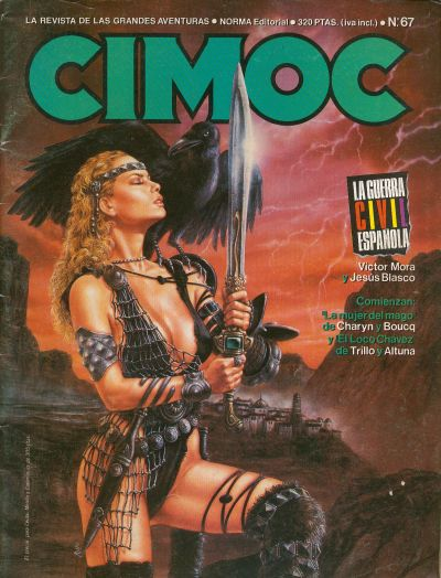 Cover for Cimoc (NORMA Editorial, 1981 series) #67