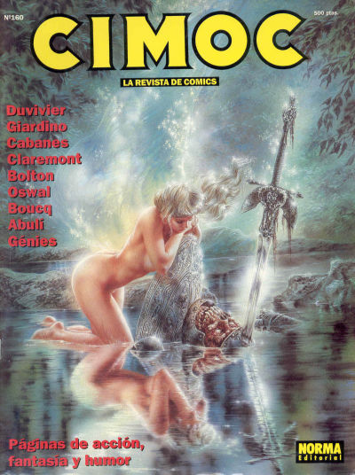 Cover for Cimoc (NORMA Editorial, 1981 series) #160