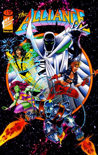 Cover for The Alliance (Image, 1995 series) #1 [Cover A]