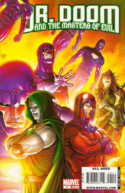 Cover for Doctor Doom and the Masters of Evil (Marvel, 2009 series) #4