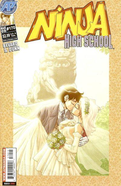 Cover for Ninja High School (Antarctic Press, 1994 series) #170