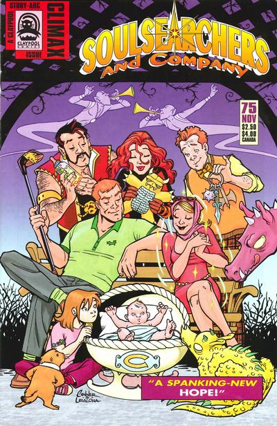 Cover for Soulsearchers and Company (Claypool Comics, 1993 series) #75
