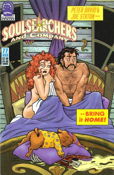 Cover for Soulsearchers and Company (Claypool Comics, 1993 series) #77