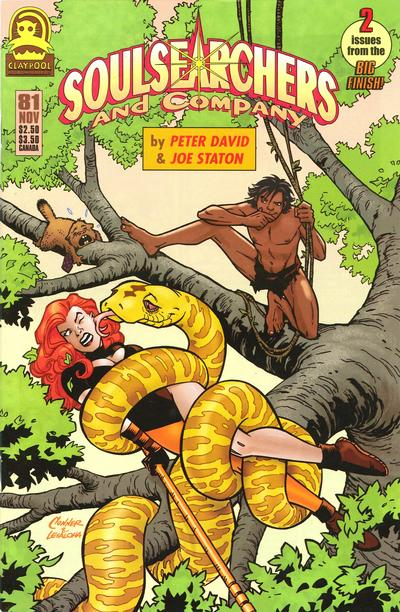 Cover for Soulsearchers and Company (Claypool Comics, 1993 series) #81