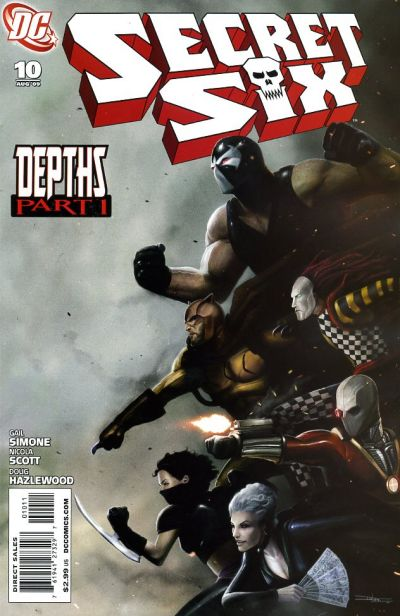 Cover for Secret Six (DC, 2008 series) #10