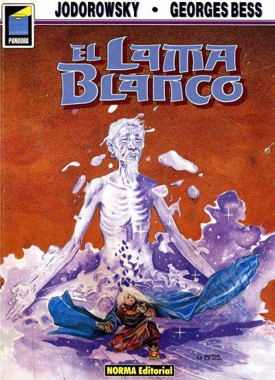 Cover for Pandora (NORMA Editorial, 1989 series) #1 - El lama blanco