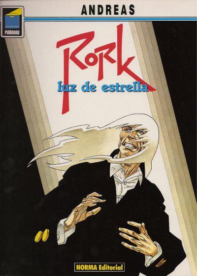 Cover for Pandora (NORMA Editorial, 1989 series) #22 - Rork. Luz de estrella