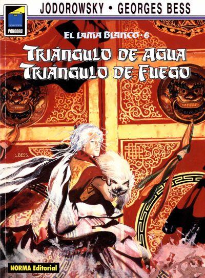 Cover for Pandora (NORMA Editorial, 1989 series) #48 - El lama blanco 6. Triángulo de agua, triángulo de fuego