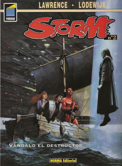 Cover for Pandora (NORMA Editorial, 1989 series) #60