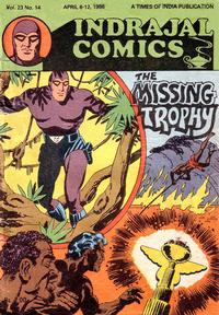 Cover Thumbnail for Indrajal Comics (Bennet, Coleman & Co., 1964 series) #v23#14 [614]