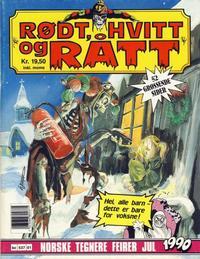 Cover Thumbnail for Rødt, hvitt og rått (Bladkompaniet, 1990 series) #[3]