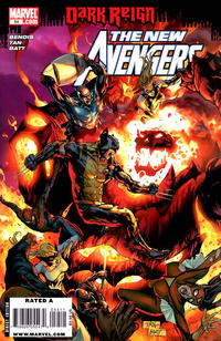 Cover Thumbnail for New Avengers (Marvel, 2005 series) #54