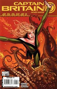 Cover Thumbnail for Captain Britain and MI13 Annual (Marvel, 2009 series) #1