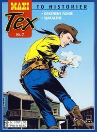 Cover Thumbnail for Maxi Tex (Hjemmet / Egmont, 2008 series) #7