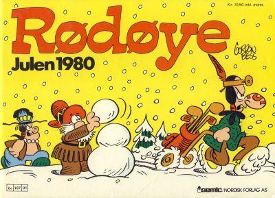 Cover for Rødøye (Semic, 1980 series) #1980