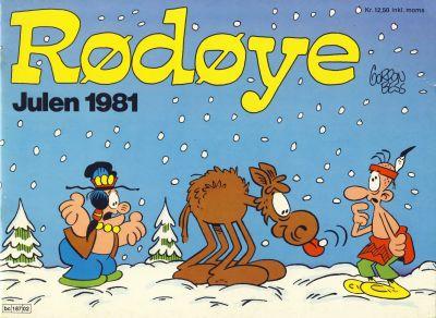 Cover for Rødøye (Semic, 1980 series) #1981