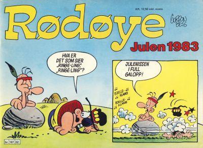 Cover for Rødøye (Semic, 1980 series) #1983