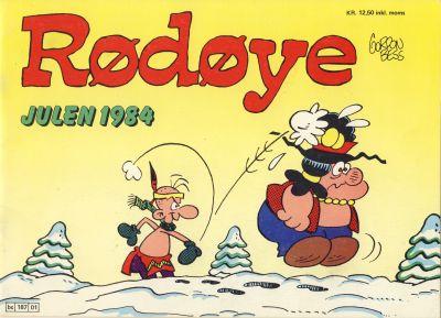 Cover for Rødøye (Semic, 1980 series) #1984