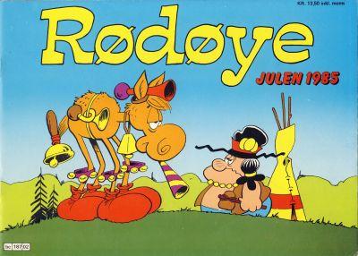 Cover for Rødøye (Semic, 1980 series) #1985