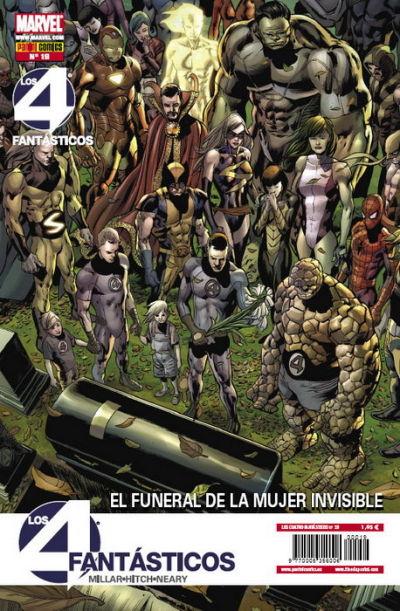 Cover for Los 4 Fantásticos (Panini España, 2008 series) #19