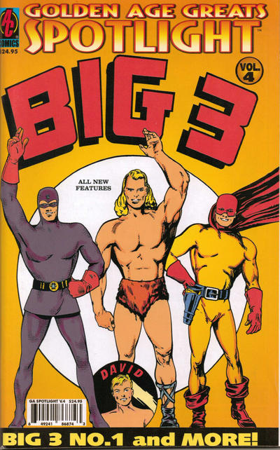 Cover for Golden-Age Greats Spotlight (AC, 2003 series) #4