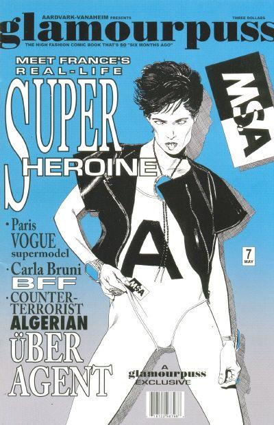 Cover for glamourpuss (Aardvark-Vanaheim, 2008 series) #7