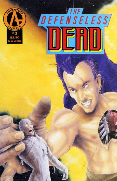 Cover for The Defenseless Dead (Malibu, 1991 series) #3
