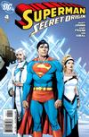 Cover for Superman: Secret Origin (DC, 2009 series) #4 [Gary Frank Fortress Cover]