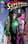 Cover Thumbnail for Superman: Secret Origin (2009 series) #5 [Gary Frank Villains Cover]